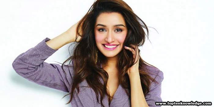 Top 10 Most Indian Beautiful Girls in 2021 Shraddha Kapoor