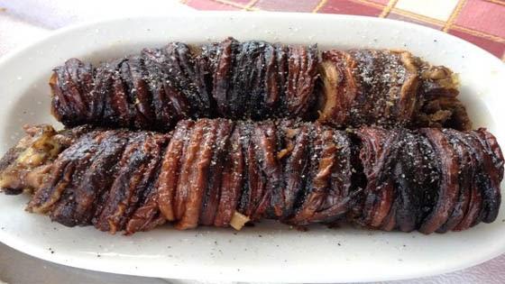 Turkish food Kokoretsi