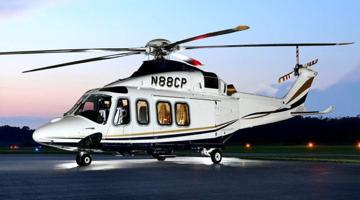 Luxury Helicopters AgustaWestland AW139