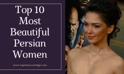 Top 10 Beautiful Persian Women